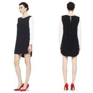 Club Monaco Contrast Shift Dress